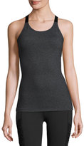 Beyond Yoga Silhouette Sport Camisole, Heather Gray