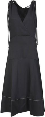 Proenza Schouler V-neck Flared Dress
