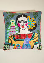 Karma Living Artistic Ambiance Pillow in Slate