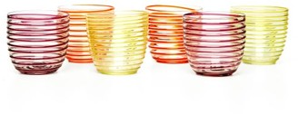 Yali Glass - Set Of Six Goto Tumblers - Multi