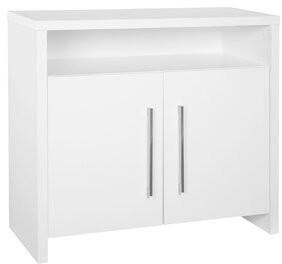 ClosetMaid Bookcases 2 Door Accent Cabinet Color: White
