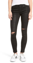 BLANKNYC Denim Distressed Sparkle Skinny Jean