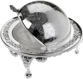 Corbell Silver Company Inc. Silver-Plated Revolving Butter Dish