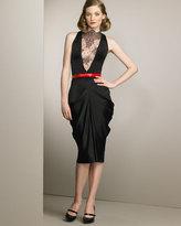 Alexander McQueen Lace-Inset Dress