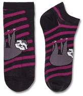 Xhilaration Women's Low-Cut Socks Hanging Sloth Zodiac Night One Size