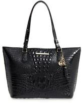 Brahmin 'Medium Asher' Leather Tote - Black