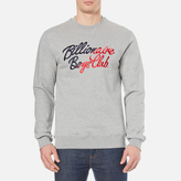 Billionaire Boys Club Men's Script Embroidered Sweatshirt Heather