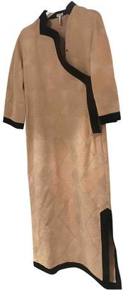 Loewe Beige Cotton Dresses