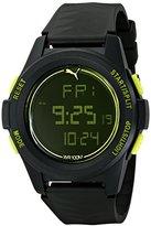 Puma Men's PU9111610 Vertical Digital Display Quartz Watch