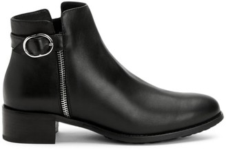 Aquatalia Orleena Leather Ankle Boots