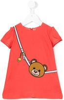 Moschino Kids - teddy bear print dress - kids - Polyester/Spandex/Elastane - 6 mth