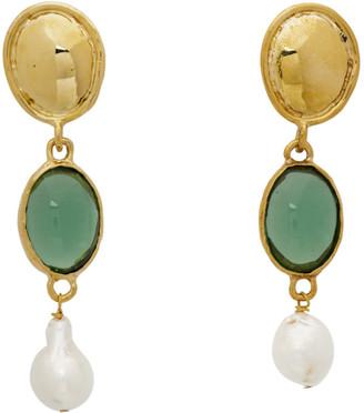 MONDO MONDO Green Sirena Earrings