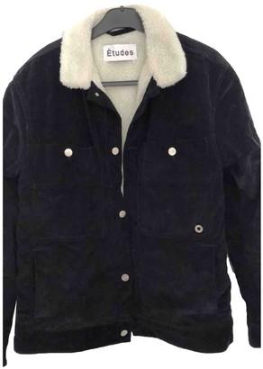 Etudes Studio Blue Cotton Jackets