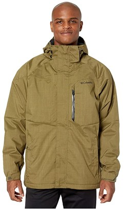 Columbia Alpine Actiontm Jacket (Olive Brown) Men's Jacket