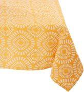 Mahogany T420T9 Rectangle Cobble Stone Jacquard Tablecloth, 60 by 90-Inch, /Light Grey