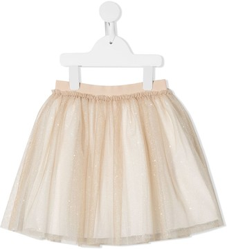 Il Gufo Tutu Skirt With Glitter Detailing
