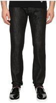 Armani Jeans Slim Fit Five-Pocket Jeans in Black