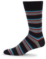 Saks Fifth Avenue Striped Cotton-Blend Socks