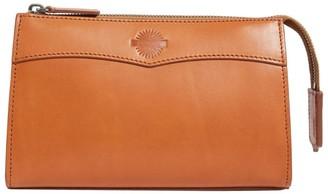 Purdey Medium Leather Wash Bag