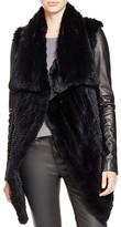 Mackage Jackie Fur Coat with Leather Sleeves - 100% Bloomingdale's Exclusive