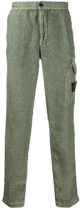 Stone Island Patch-Pocket Cargo Trousers