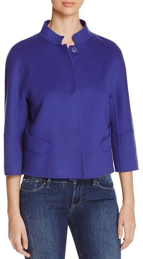 Armani Collezioni Three-Quarter Sleeve Jacket