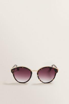 Seed Heritage Fergie Round Sunglasses