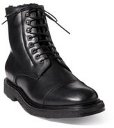 Ralph Lauren Trystan Vachetta Leather Boot Black 9 D