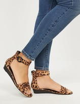 Lane Bryant Low-Wedge Ankle-Strap Sandals
