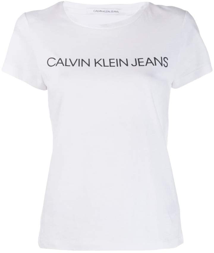 5859e02d Calvin Klein Jeans Tops For Women - ShopStyle UK