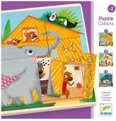 Djeco Puzzle 3 layers - Cabana