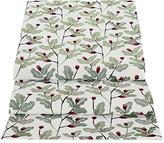 John Lewis Acorn Print Cotton Table Runner, Green/Multi, L250cm