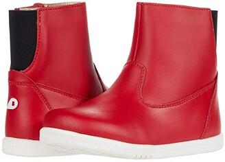 Bobux I-Walk Paddington Waterproof Boot (Toddler) (Red 2) Kid's Shoes