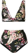 Zimmermann floral print bikini
