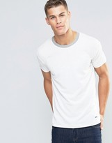 BOSS ORANGE By Hugo Boss Tanzy Pique T-Shirt Relaxed Fit Contrast Collar