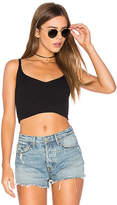 Free People Corset Detail Swit Cami in Black. - size L (also in M)