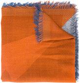 Fendi block panel scarf
