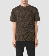 AllSaints Leopard Polka Crew T-Shirt
