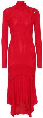 Stella McCartney Wool and silk-blend dress