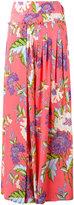 Diane von Furstenberg floral maxi skirt - women - Silk - 8