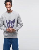 Wood Wood Hester Sweatshirt AA Rip Logo