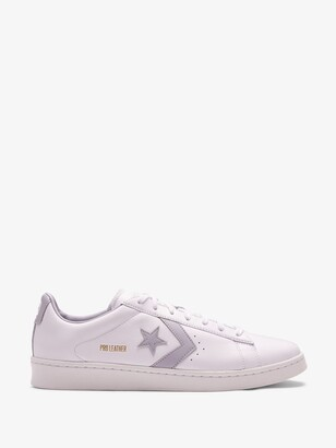 Converse White Pro Leather Ox Sneakers