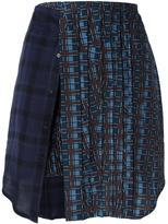 A.F.Vandevorst 'School' skirt - women - Silk/Spandex/Elastane/Viscose/Wool - 36