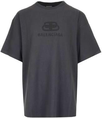 Balenciaga Oversize Logo T-Shirt