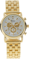 Geneva Platinum Two-Tone Gold & Silver Metal Watch