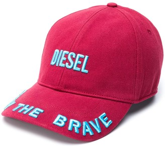 Diesel Logo Embroidered Baseball Cap