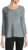 LAmade Olivia Mixed-Stitch Sweater