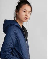 Express reversible puffer jacket