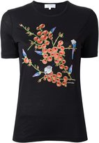 Carven floral embroidery T-shirt