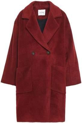 American Vintage Double-breasted Wool-blend Coat